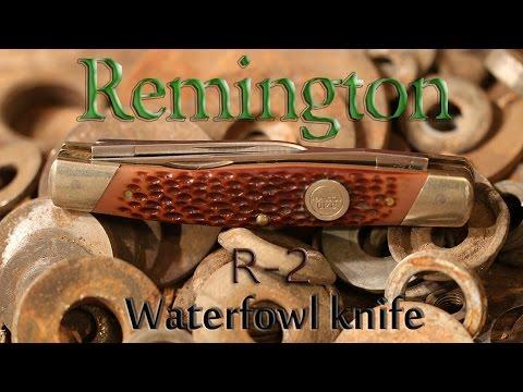 Remington R-2 Waterfowl Pocket Knife - YouTube