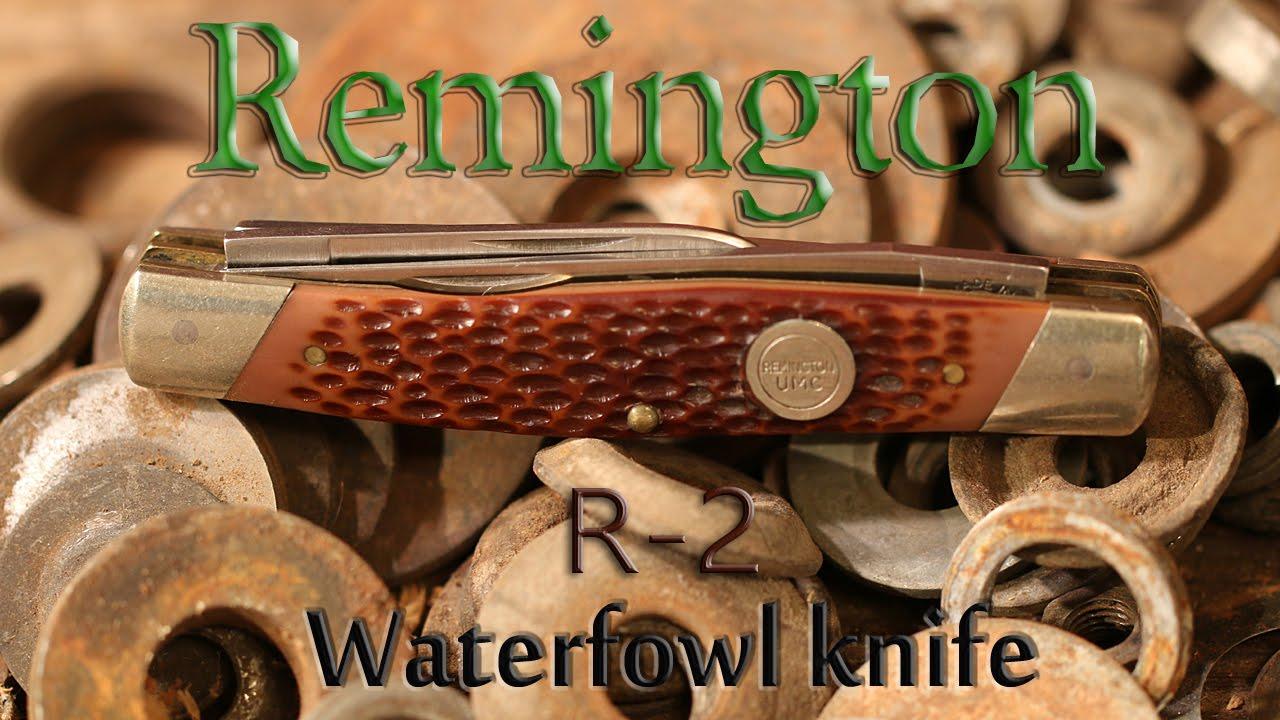 Remington R-2 Waterfowl Pocket Knife