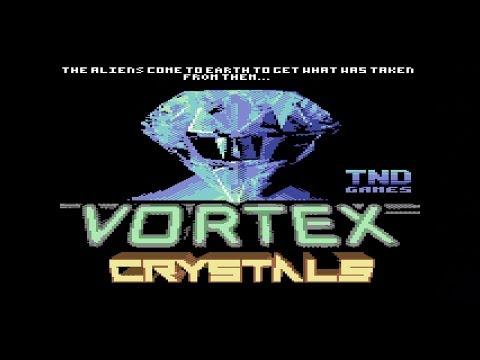 Vortex Crystals Commodore 64 Game Review C64Mini