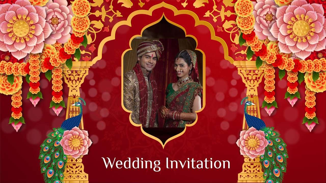 best wedding video invitations self editable create in 30 mins video invitation maker