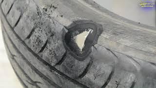 Шиномонтаж Магнитогорск. Ремонт бокового пробоя.