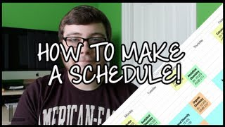 How to Make a Printable Schedule! Thumbnail