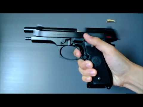 (Airsoft) Marushin Beretta M9 Shell Ejecting