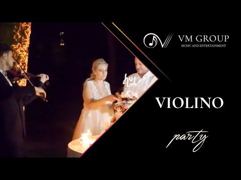 Violinista | taglio torta | VMGROUP by VictorMusic
