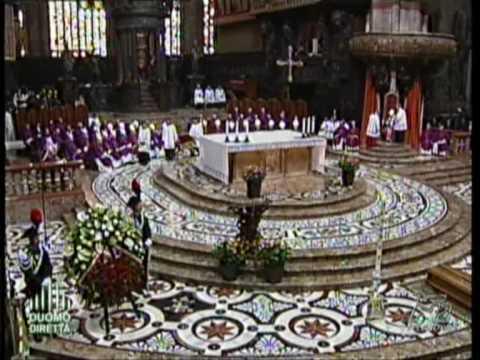 Funerali di mons. Luigi Padovese - Canto dopo il Vangelo - Requiem sanctam.mpg
