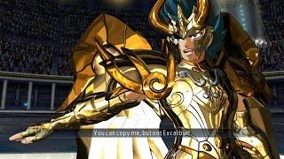 Saint Seiya Soldier's Soul: Capricorn Shura God Cloth Moveset Gameplay [PS4] (English)