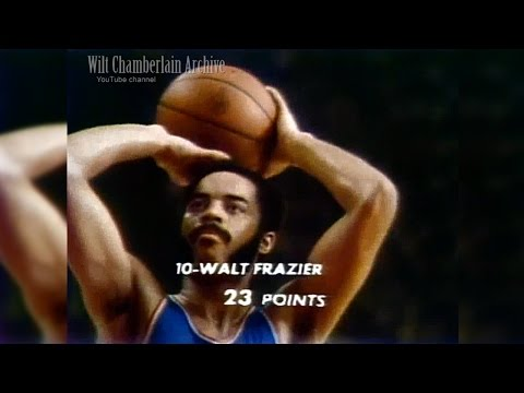 Walt Frazier 26pts 7reb 6a 4stl 1blk (Knicks at Bullets 3.4.1973 Full Highlights)