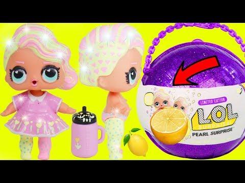 Lemonade Baby Custom Big LOL Surprise Dolls + Lil Sisters   5 Layers Giant Toy Wave 2 Video