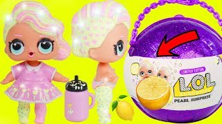 Lemonade Baby Custom Big LOL Surprise Dolls + Lil Sisters   5 Layers Giant Toy Wave 2 Video