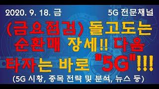 (금요점검) 다음 타자는 5G!! 5G 전략, 분석(9…