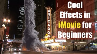 Cool Effects in iMovie for Beginners
