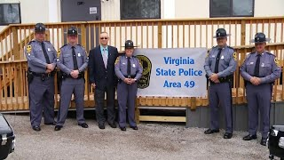 Two dozen Virginia State Police officers have a new home