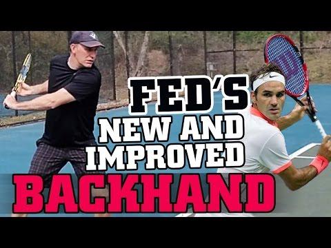 Backhand Lesson: Federer's New and Improved Backhand