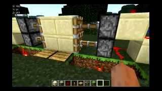 Как сделать раздвижные двери на поршнях minecraft(, 2012-11-09T17:02:42.000Z)