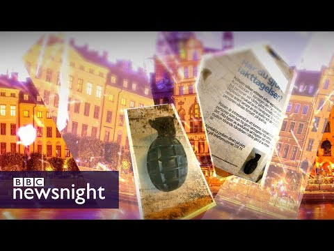 What is the link between immigration and crime in Sweden? - BBC Newsnight
