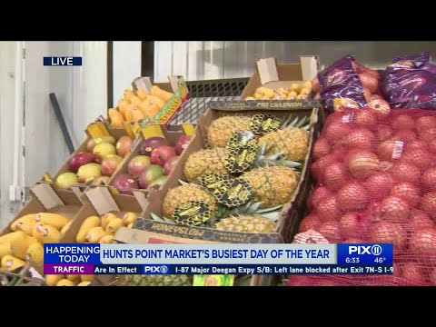 Hunts Point Market In The Bronx Has Its Busiest Day Of The Year