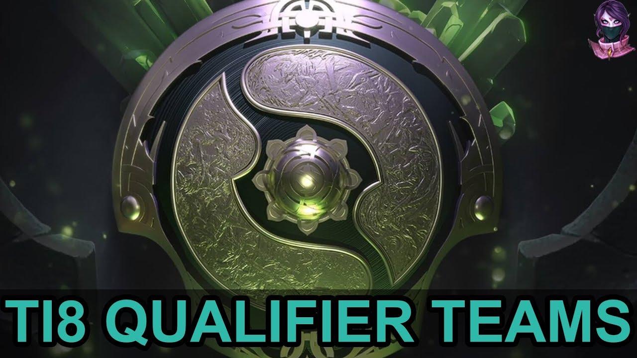 dota 2 ti8 qualifiers