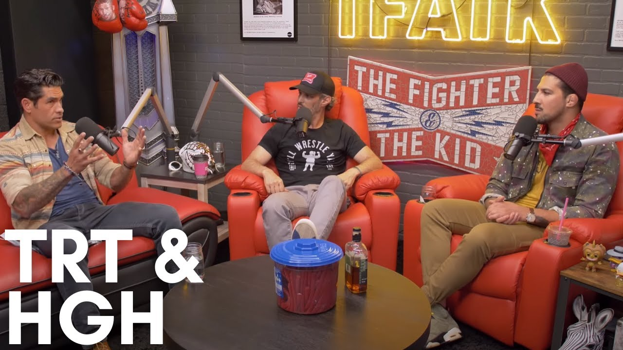 TRT vs HGH | The Fighter and The Kid