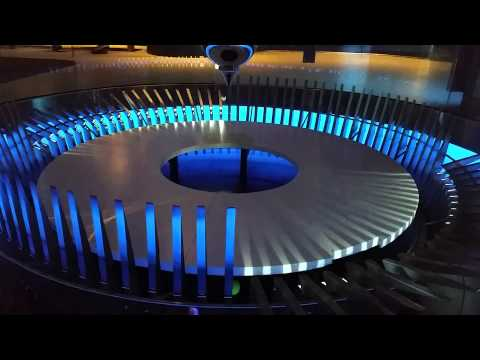 Foucault's Pendulum, Museum of Science and Industry, Chicago