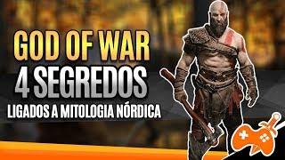 GOD OF WAR - 4 SEGREDOS NÓRDICOS QUE VOCÊ NÂO VIU NO TRAILER PS UNDERGROUND   MITOLOGIA DOS GAMES