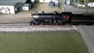 N&W M Class 4-8-0
