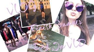 Vlog. Finish summer day in VLD, H&M, Zara