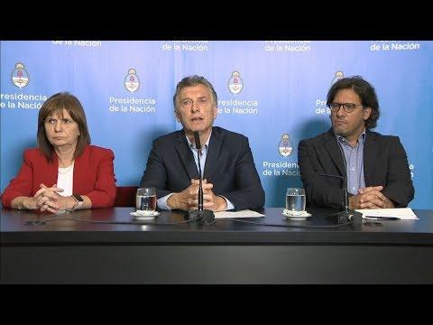 Habló Macri tras el escándalo de la Megafinal