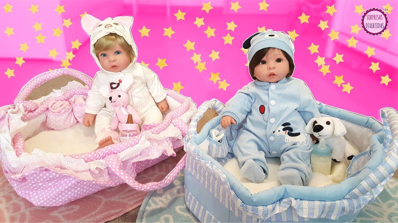 Accesorios Para Bebes Gemelos.Nuevos Bebes Gemelos Reborn Caja Sorpresa De Juguetes Con Accesorios Para Munecas