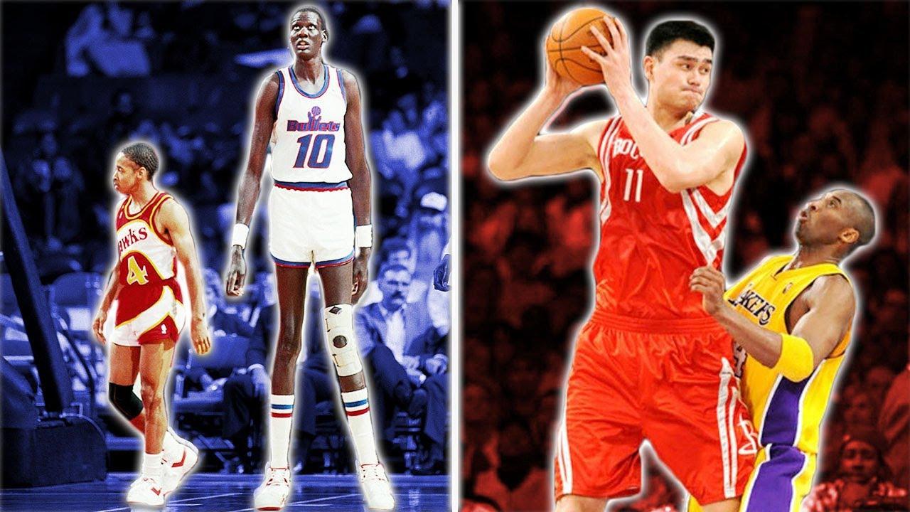 NBA Tarihinin En Uzun 10 Oyuncusu