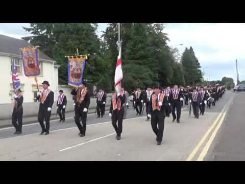 Aughagaskin Flute Band @ County  Londonderry Royal Arch Purple Parade 2016 (2)