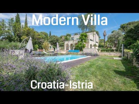 🔵 Luxurious modern villa for sale  - Pula | Istria  | Croatia  | Luxury Croatian Villas |