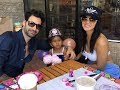 Sunny Leone and Daniel Weber celebrate their baby girl Nisha's birthday in Arizona