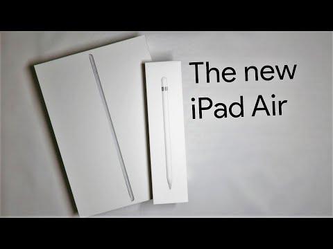 iPad Air (2019) + Apple Pencil Unboxing | ASMR Unboxing  [No Talking]