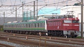 【旅客線迂回】EF81 139牽引 E233系E-55編成 KY出場配給