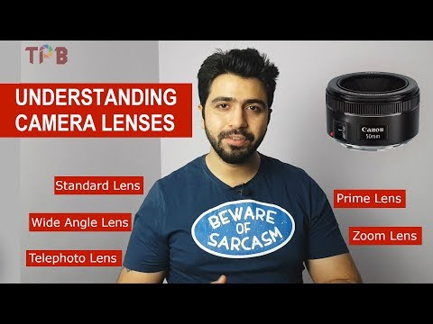 Type of Camera Lenses Explained - Hindi DSLR Photography Lesson 6