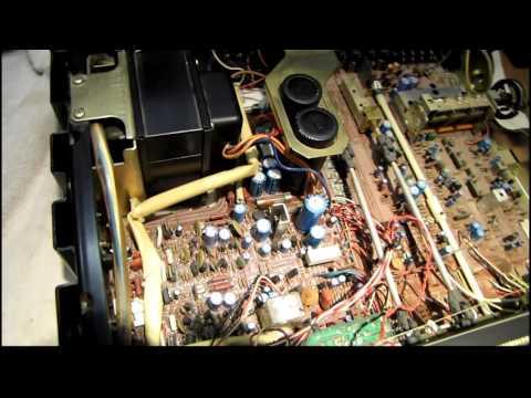 Yamaha CR-820 Receiver Repair Jan 24, 2016