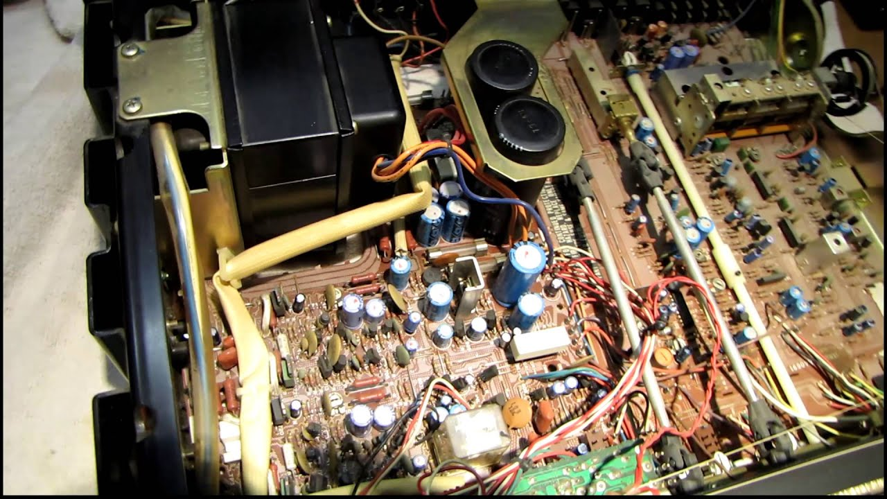 Yamaha Cr-820 Receiver Repair Jan 24  2016