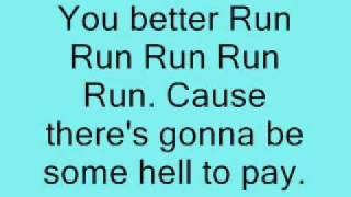 Kesha- Run Devil Run lyrics