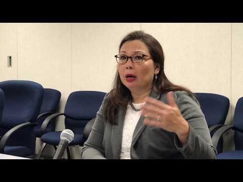 U.S. Sen Tammy Duckworth talks ag, Charlottesville