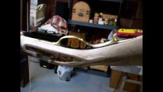 Bedford flintlock rifle being built