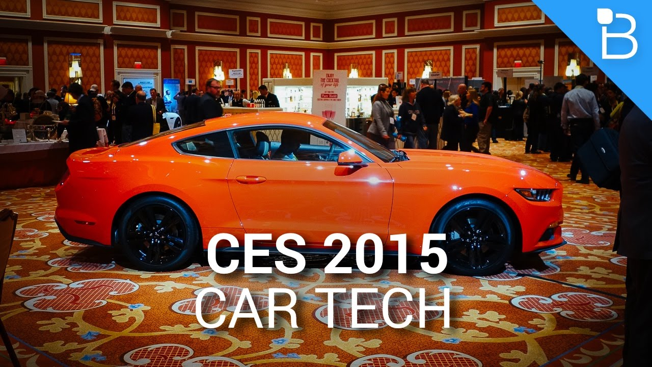 The Most Badass Car Tech - CES 2015 - YouTube