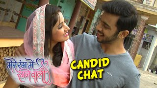 LD & Radha in a Candid Chat Post Leap | Mere Rang Mein Rangne Wali | Life Ok