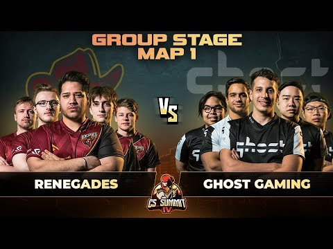Renegades vs Ghost, Map 1 Dust 2 - cs_summit 4: Group Stage
