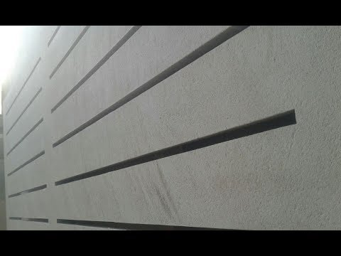 Pre-cast concrete slabs with KIMERA Small plant