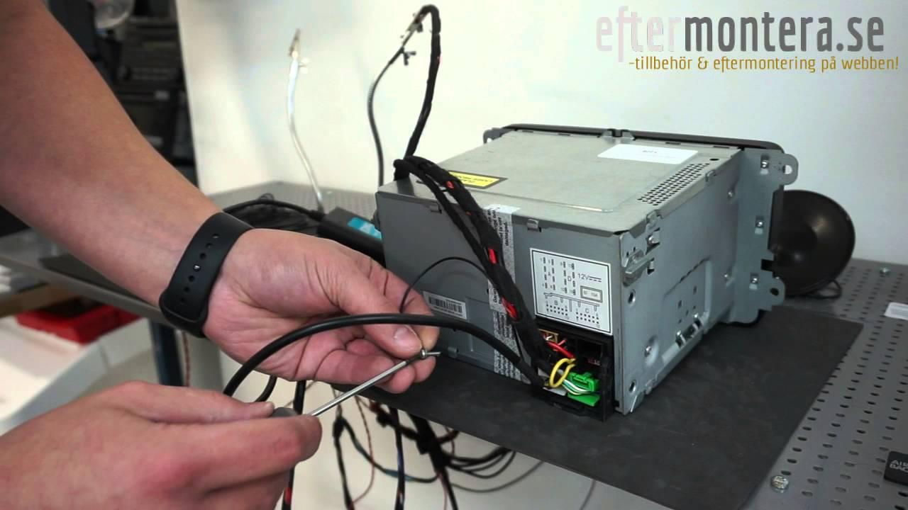 medium resolution of volkswagen rcd 300 rcd 500 original radio med bluetooth f r telefoni musik spotify usb youtube