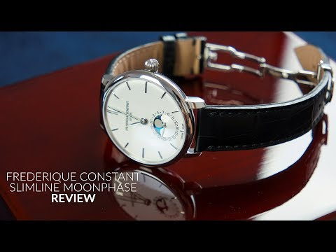 Frederique Constant Slimline Moonphase (FC703S3S6) Review | Best Moonphase Watch Under $2000