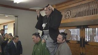 日本相撲協会は26日、大関鶴竜の第71代横綱昇進を満場一致で正式に...
