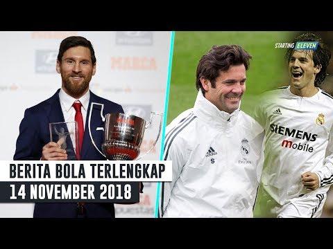 Lionel Messi Borong Dua Juara - Solari Resmi Jadi Pelatih Real Madrid (Berita Bola 14/11/2018)