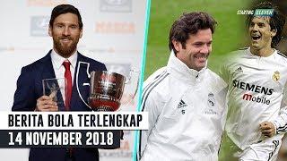 Download Video Lionel Messi Borong Dua Juara - Solari Resmi Jadi Pelatih Real Madrid (Berita Bola 14/11/2018) MP3 3GP MP4