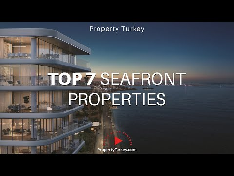 TOP 7 Seafront Istanbul Properties